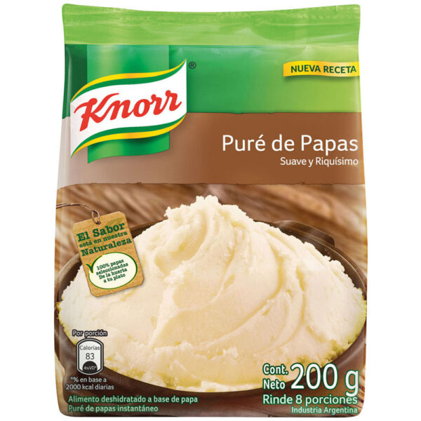 Pure de papa Knorr
