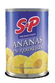 anana rodajas S&P