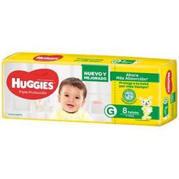 Huggies G 8 unid.