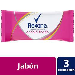 jabon rexona x3 orchid