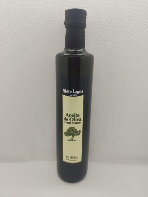 Aceite de oliva siete lagos