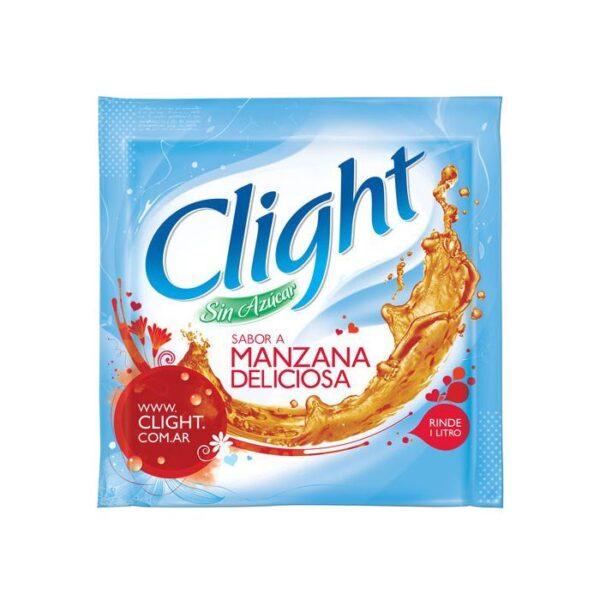 Jugo en Polvo Clight sin azucar Manzana Deliciosa